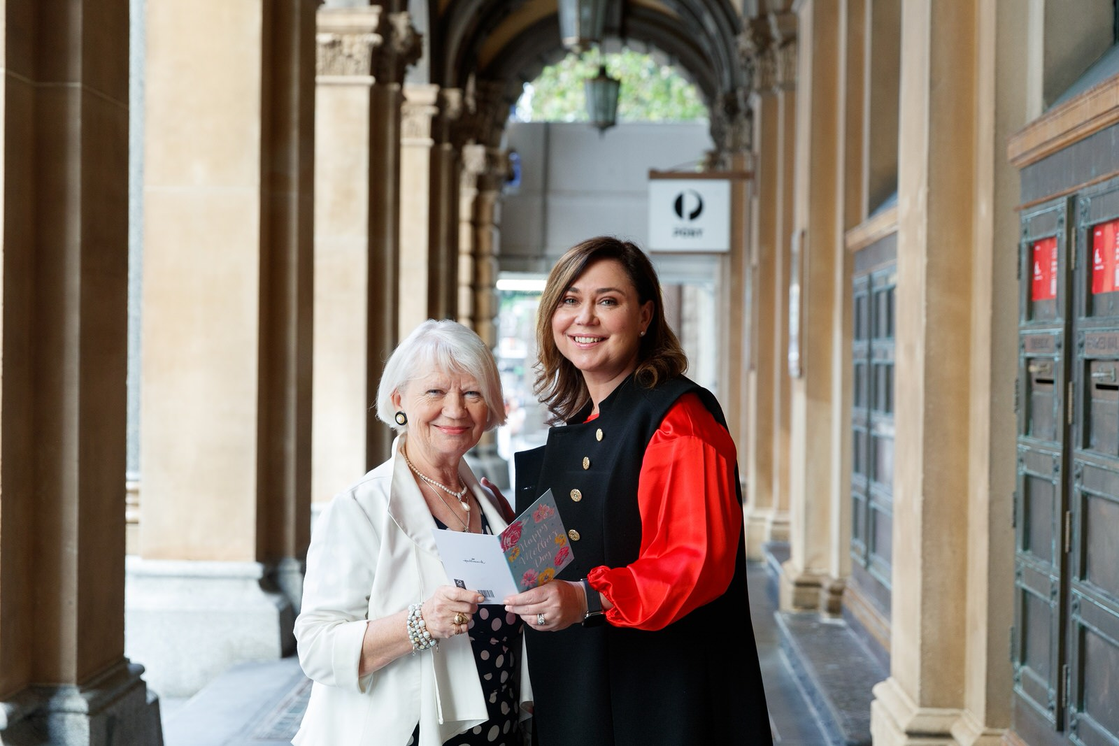 Australia Post Executive GM Nicole Sheffield with mum Czesia 1