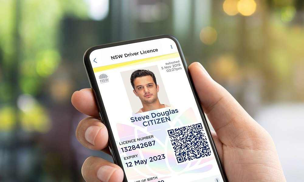 New South Wales Digital Driver Licence