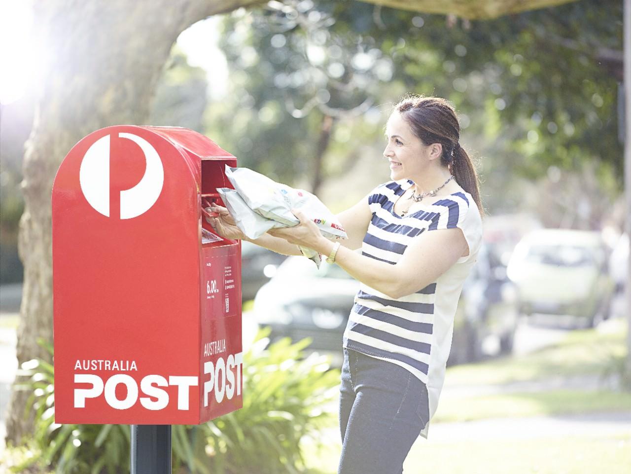 Australia Post satchel
