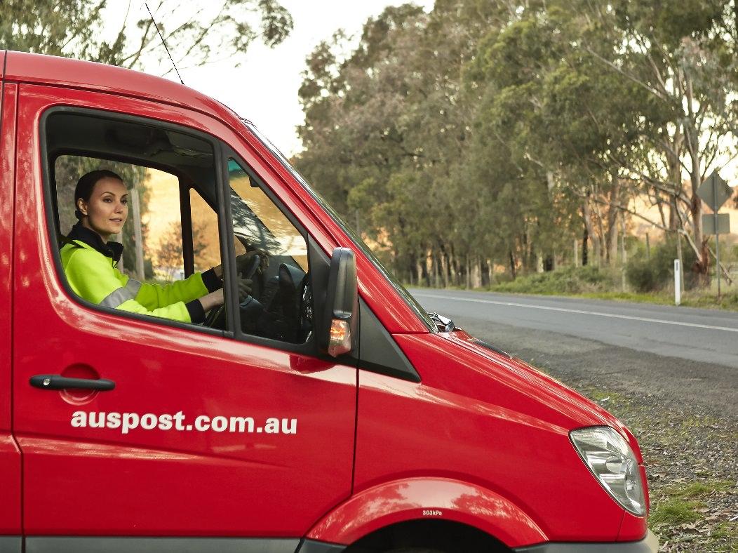Australia Post Van