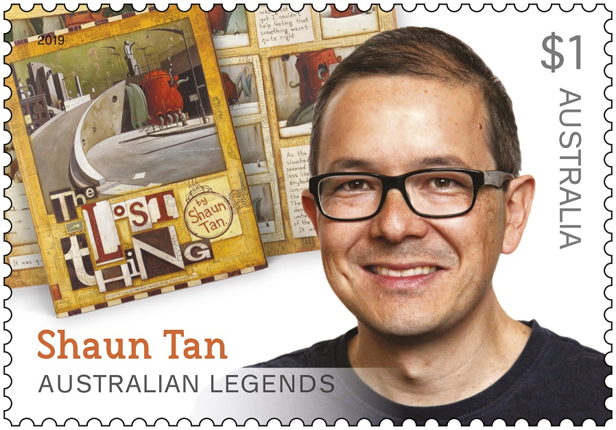 Image Shaun Tan Stamp