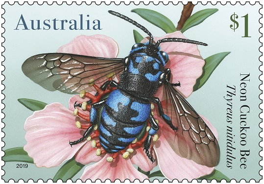 Australia Post Bees Stamp 03