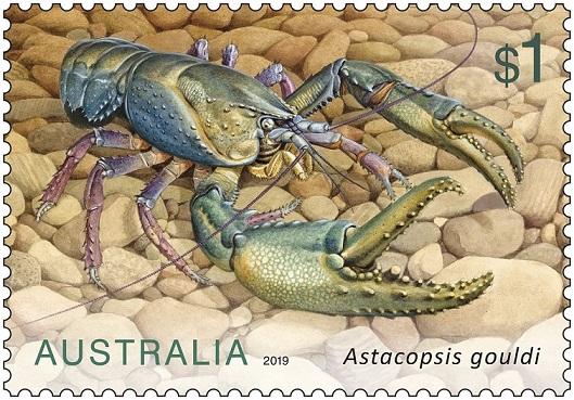Australia Post Crays Stamps 02