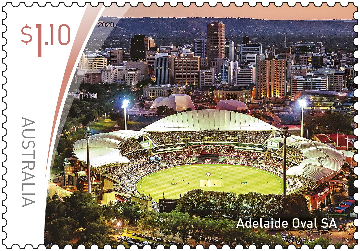 Adelaide Oval Stamp