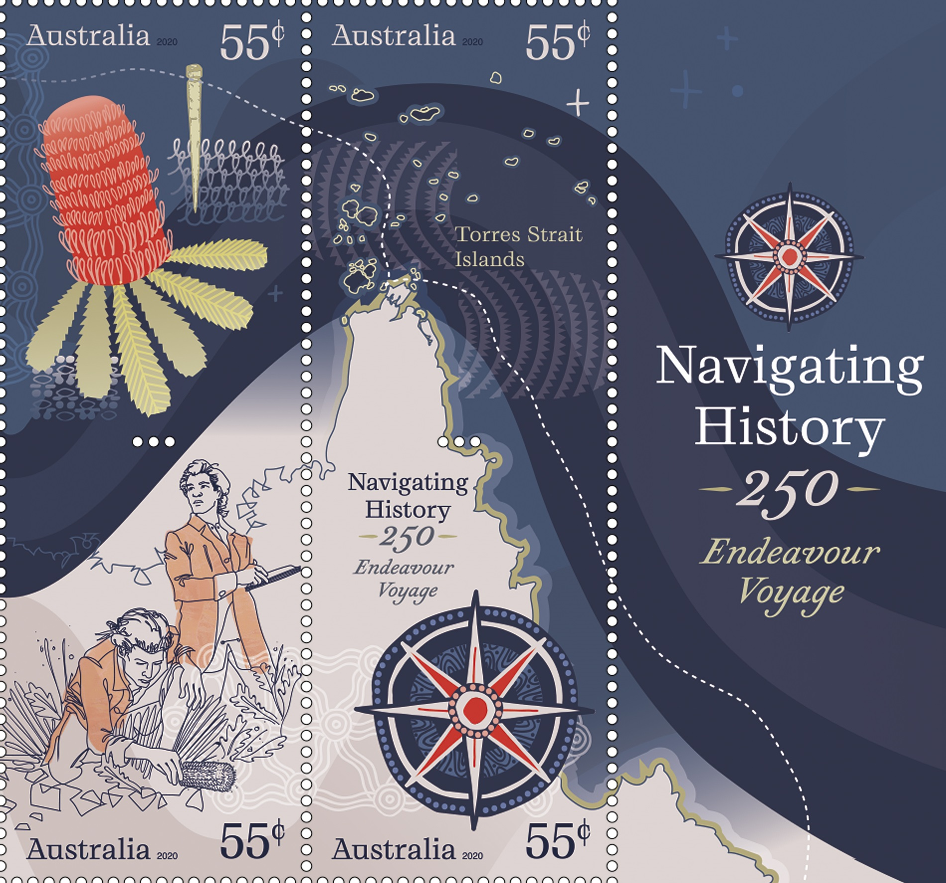 Navigating History Stamps 4 5