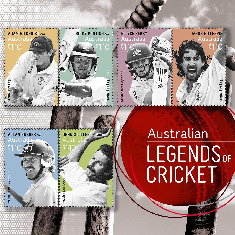 Australia Post Legends of Cricket